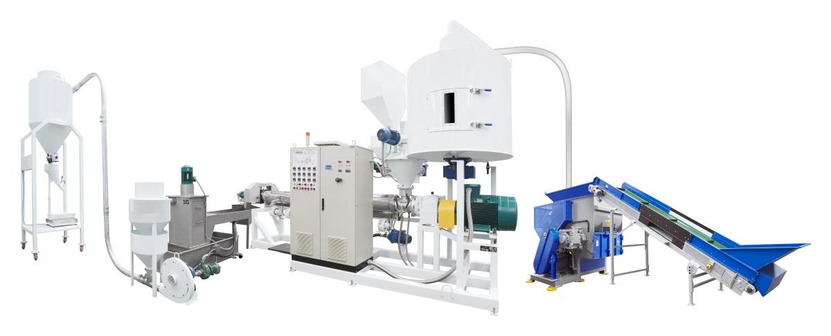 Plástico Moderno, Sistema Challenger Recycler, da Wortex, abrange todas as etapas do processo de reciclagem